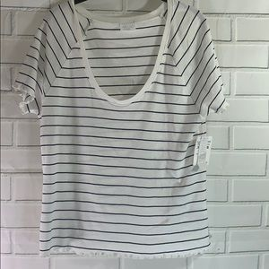 NWT Abound Striped Tee- XXL